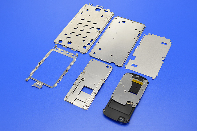 Electronic built-in parts-3